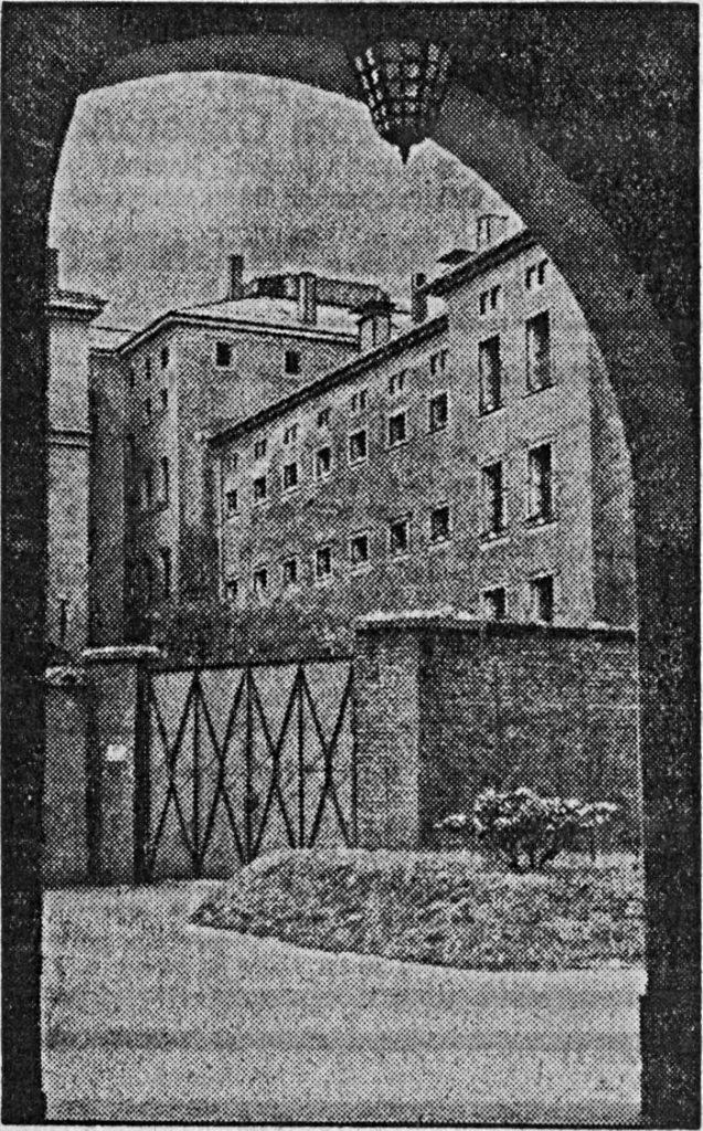 Bild 3: Blick von Osten auf das Gefängnis, 1934 (Quelle: Stadtarchiv Chemnitz)