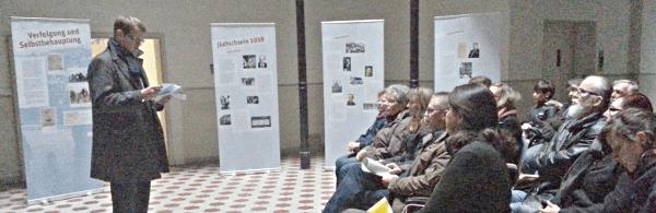 Bild 5: Die Ausstellung wurde zum 75. Jahrestag der Reichspogromnacht eröffnet